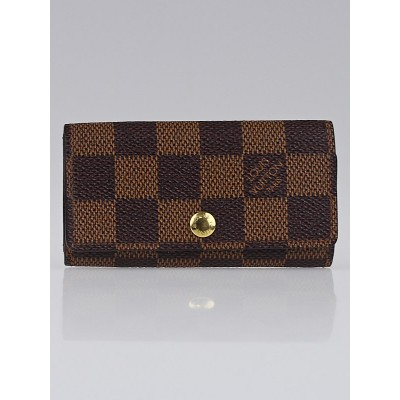 Louis Vuitton Damier Canvas Multicles 4 Ring Key Holder