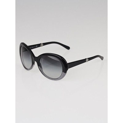 Chanel Black/Grey Oversized Frame Gradient Tint CC Sunglasses-5156