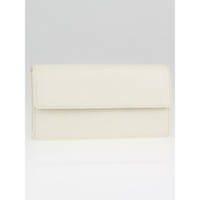 Louis Vuitton Ivory Epi Leather Sarah Wallet