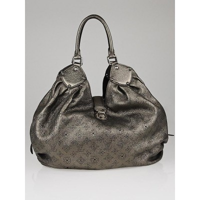 Louis Vuitton Metallic Bronze Monogram Mahina Leather XL Bag