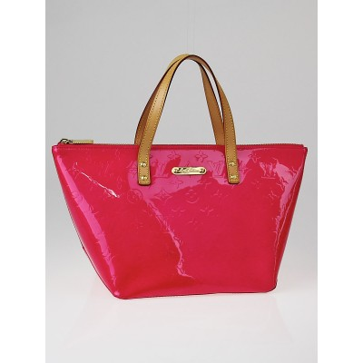Louis Vuitton Rose Pop Monogram Vernis Bellevue PM Bag