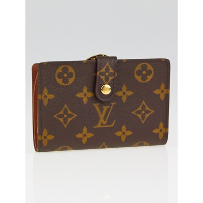 Louis Vuitton Vintage Monogram Canvas Port Feuille Vienoise French Purse Wallet