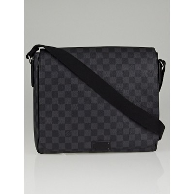 Louis Vuitton Damier Graphite District MM Messenger Bag