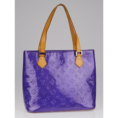 Louis Vuitton Purple Monogram Vernis Houston Bag