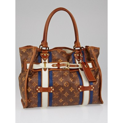 Louis Vuitton Limited Edition Tissue Rayures GM Tote Bag