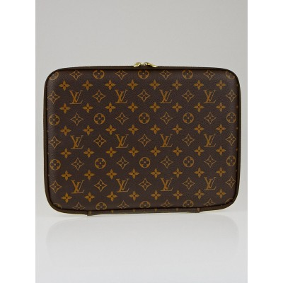 "Louis Vuitton Monogram Canvas 13"" Laptop Case"