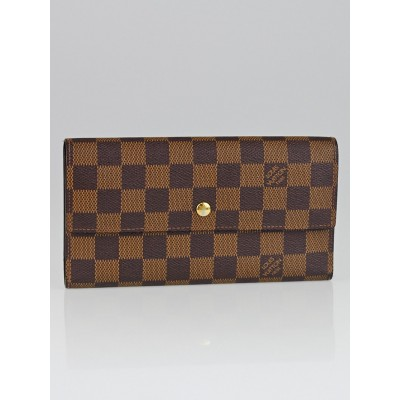 Louis Vuitton Damier Canvas Porte-Tresor International Wallet