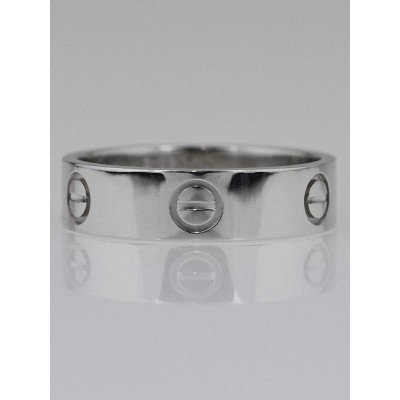 Cartier Platinum LOVE Ring Size 9/60