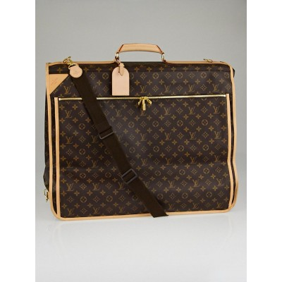 Louis Vuitton Monogram Canvas Garment Carrier Bag - 5 Hangers