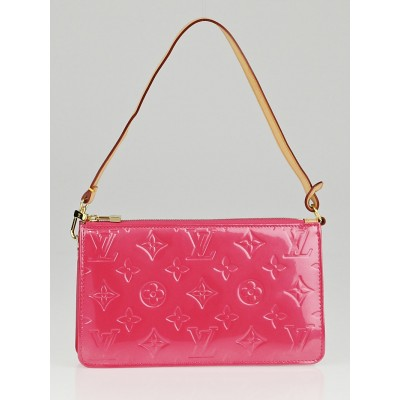 Louis Vuitton Framboise Monogram Vernis Lexington Pochette Bag