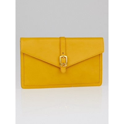 Fendi Girasole Leather Chameleon Bustina Clutch Bag 8M0284