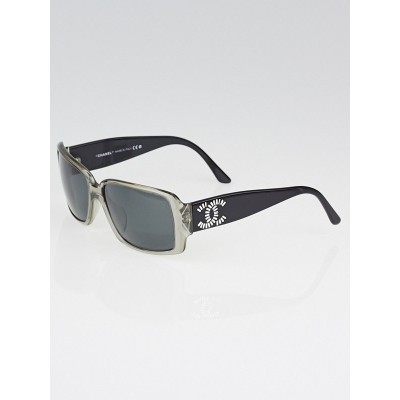 Chanel Black/Clear Frame CC Logo Sunglasses 5114-B