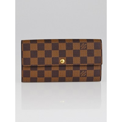 Louis Vuitton Damier Canvas Sarah NM Wallet