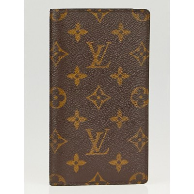 Louis Vuitton Monogram Canvas Porte Valeurs Checkbook Wallet