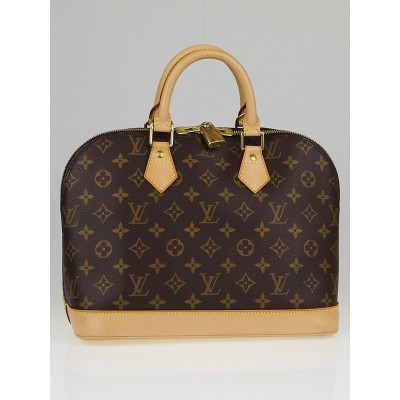 Louis Vuitton Monogram Canvas Alma Bag