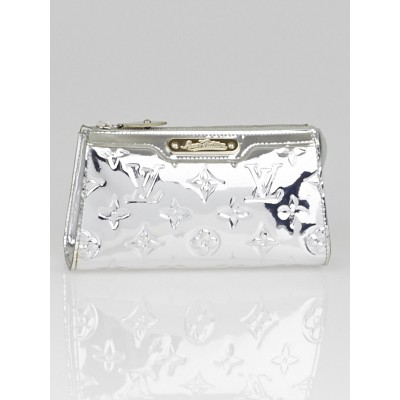 Louis Vuitton Limited Edition Silver Monogram Miroir Cosmetic Pouch