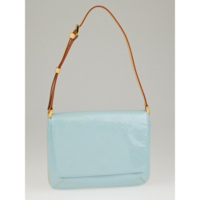 Louis Vuitton Baby Blue Monogram Vernis Thompson Street Bag