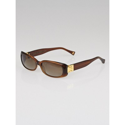 Louis Vuitton Dark Honey Speckling Acetate Frame Soupcon GM Sunglasses