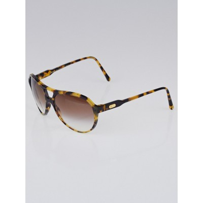 Louis Vuitton Tortoise Acetate Frame Amory Sunglasses