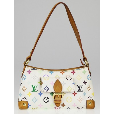 Louis Vuitton White Monogram Multicolore Eliza Bag