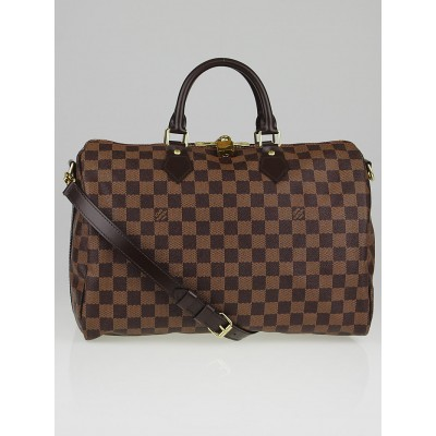 Louis Vuitton Damier Canvas Speedy Badouliere 35 Bag