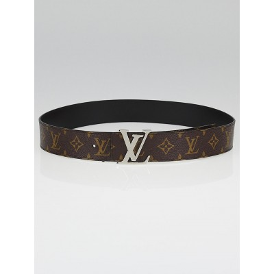 Louis Vuitton Monogram Canvas LV Initiales Belt Reversible Size 85/34