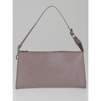Louis Vuitton Lilac Epi Leather Accessories Pochette 24 Bag