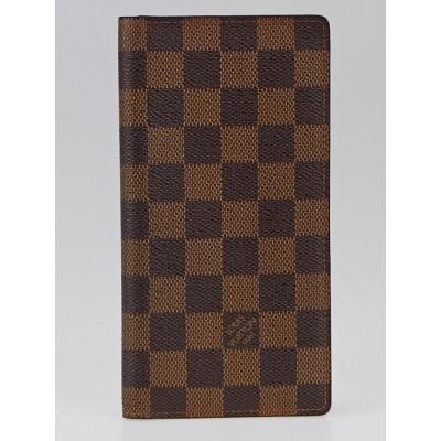 Louis Vuitton Damier Canvas Porte Valeurs Organizer Wallet