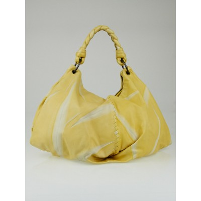 Bottega Veneta Yellow Tie-Dye Superlight Aquilone Fortune Cookie Bag