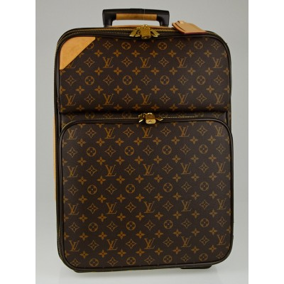 Louis Vuitton Monogram Canvas Pegase 55 Business Rolling Suitcase