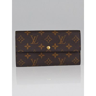 Louis Vuitton Monogram Canvas Pochette Porte-Monnaie Wallet