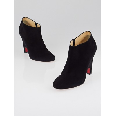 Christian Louboutin Black Suede Morphing Booties Size 8.5/39