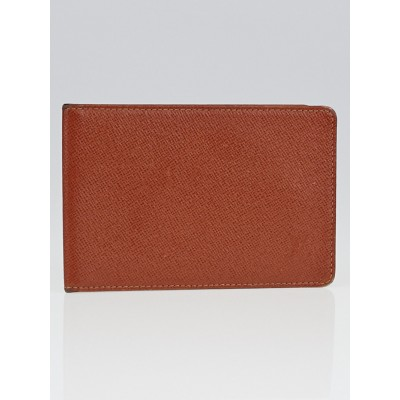 Louis Vuitton Brown Taiga Leather ID Holder