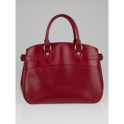 Louis Vuitton Rubis Epi Leather Passy PM Bag