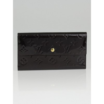 Louis Vuitton Amarante Monogram Vernis Porte-Tresor International Wallet