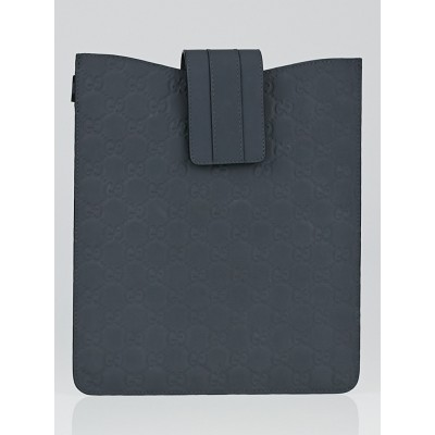 Gucci Grey Guccissima Rubber Tablet Cover