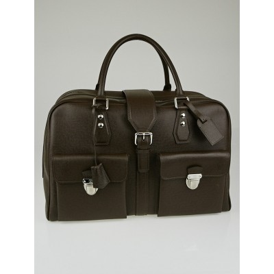 Louis Vuitton Grizzli Taiga Leather Ivan Carry On Bag