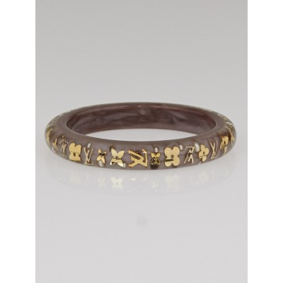 Louis Vuitton Beige Monogram Inclusion TPM Bracelet