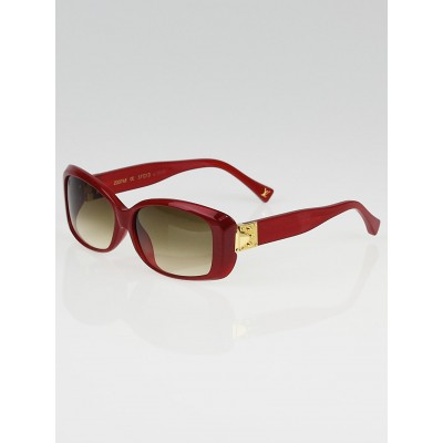 Louis Vuitton Red Speckling Acetate Frame Soupcon GM Sunglasses