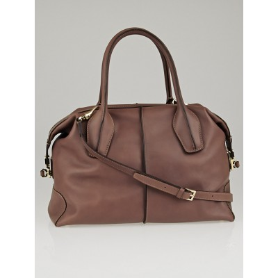 Tod's Crete Leather D-Styling Bauletto Piccolo Tote Bag