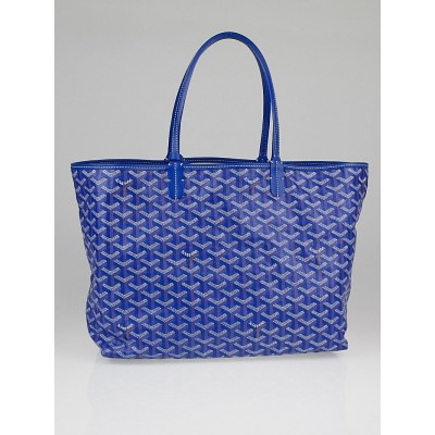 Goyard Ceil Chevron Printed Coated Canvas St. Louis PM Tote Bag