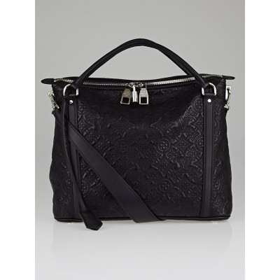 Louis Vuitton Black Monogram Antheia Leather Ixia PM Bag