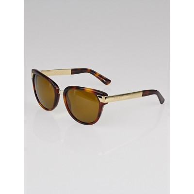 Gucci Tortoise Shell Frame Blonde Sunglasses - 3651/S