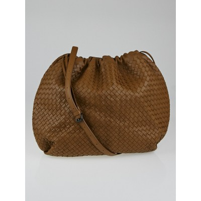 Bottega Veneta Chene Intrecciato Woven Nappa Leather Large Crossbody Bag