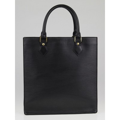 Louis Vuitton Black Epi Leather Sac Plat PM Bag