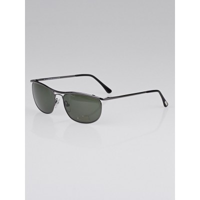 Tom Ford Gunmetal Frame Tate Aviator Sunglasses-TF287