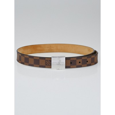 Louis Vuitton Damier Canvas Paris Square Belt Size 75 / 30
