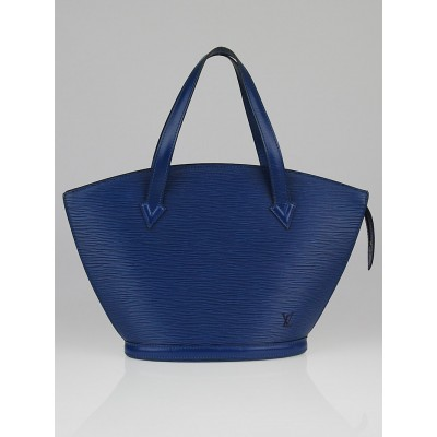 Louis Vuitton Toledo Blue Epi Leather St Jacques PM Bag
