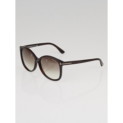 Tom Ford Brown Frame Alicia Sunglasses - TF275