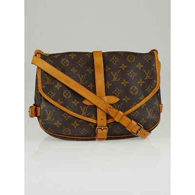 Louis Vuitton Monogram Canvas Saumur PM Bag